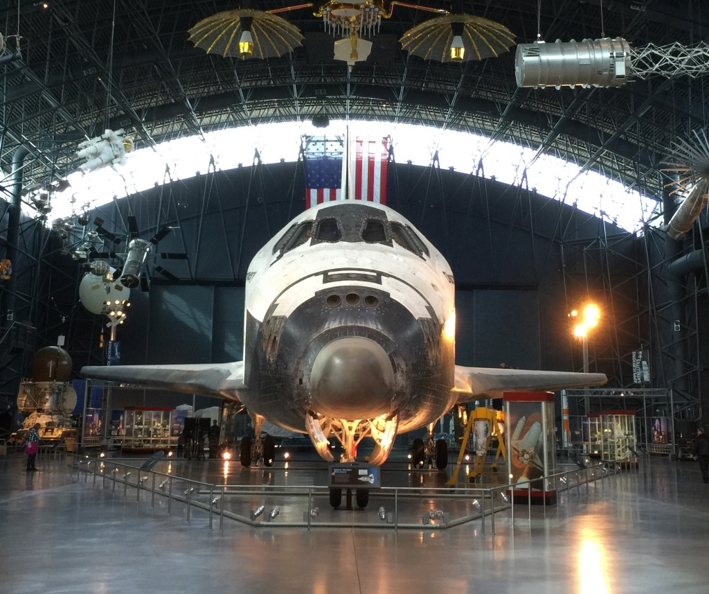 Space Shuttle Discovery at Steven F. Udvar-Hazy Center in Virginia