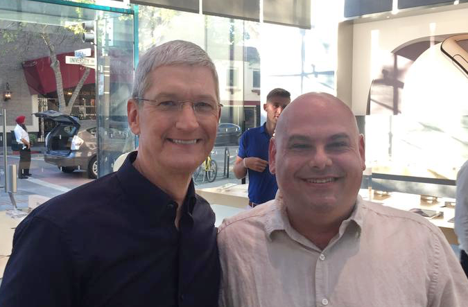 Mark & Tim Cook