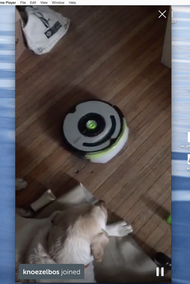 Roomba Periscope