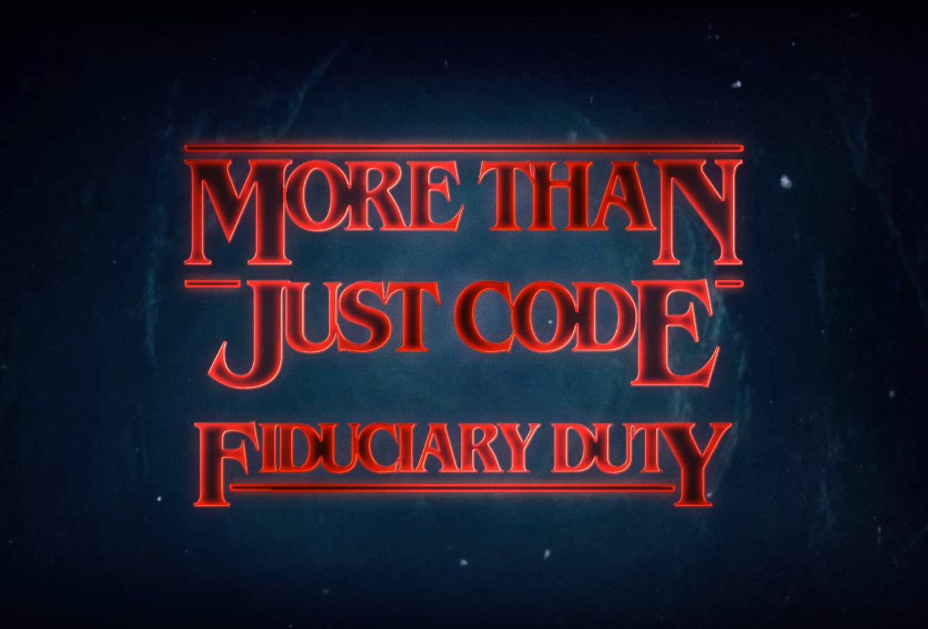 Episode 171 - A Fiduciary Duty