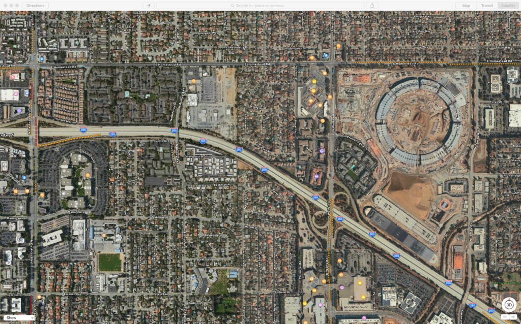 Apple Campus WIP