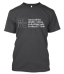 MTJC 2018 T-Shirt Annual Lottery